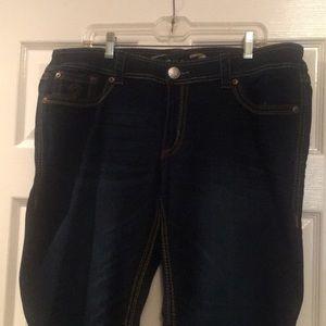 Seven 7 straight leg jeans